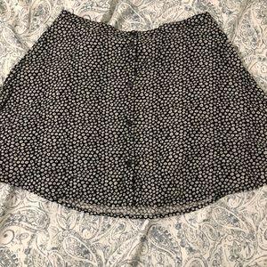 H&M's high-waist floral skirt